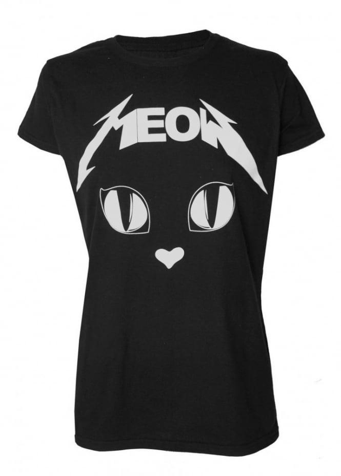 Darkside Clothing Metal Meow T-Shirt