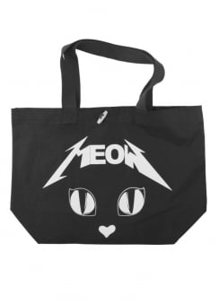 Metal Meow Tote Bag