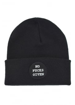No Fucks Given Beanie