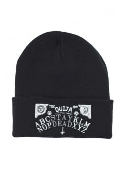 Stay Dead Ouija Embroidered Beanie