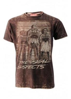 The Usual Horror Suspects Burn Out T-Shirt
