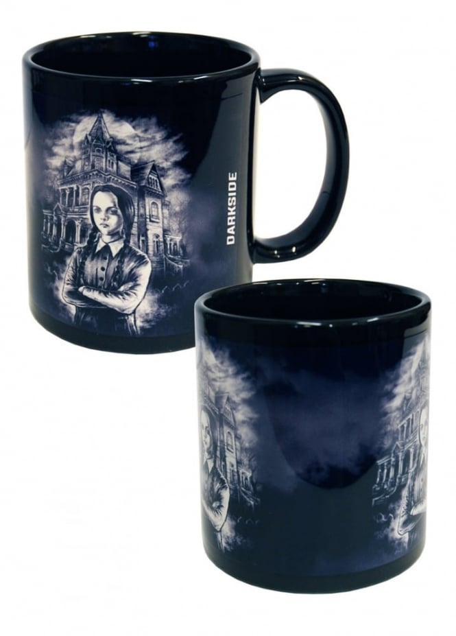Darkside Clothing Wednesday Addams Mug