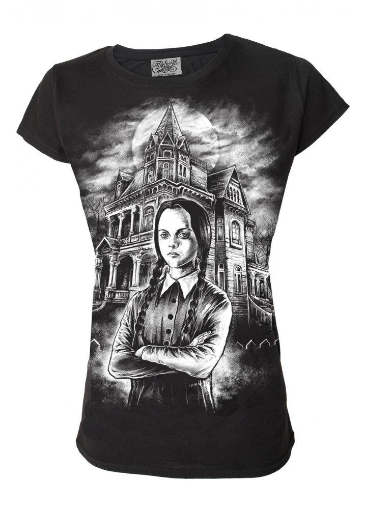 Darkside Clothing Wednesday T Shirt Attitude Clothing