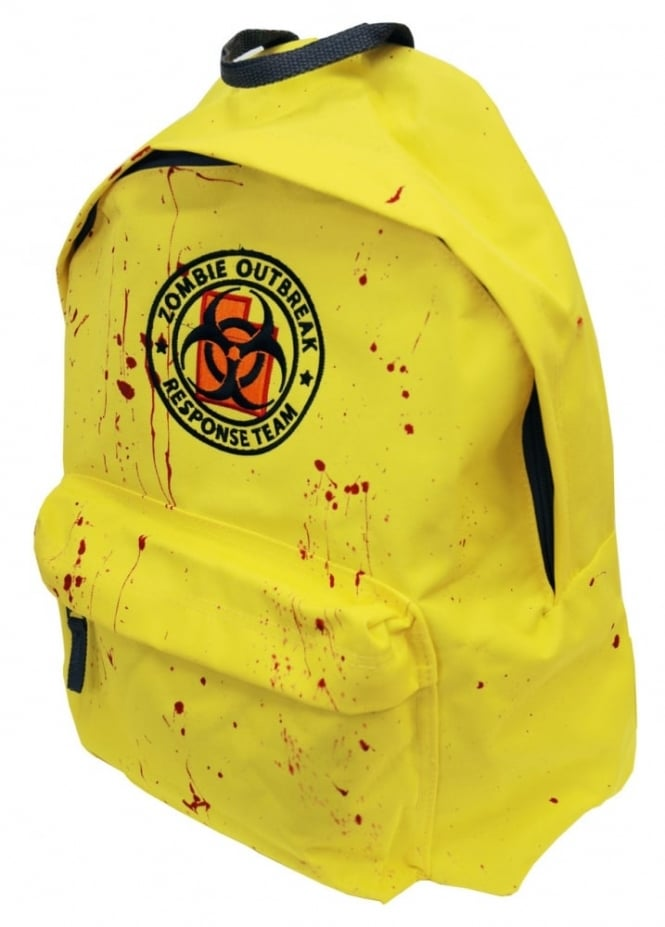 Darkside Clothing Zombie Response Blood Splatter Backpack