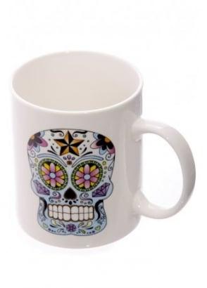 Day Of The Dead Bone China Mug