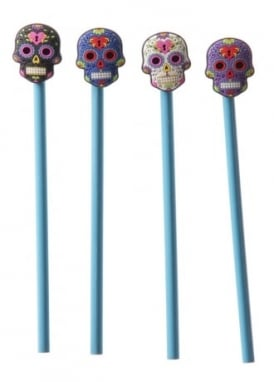 Day of the Dead Pencil Topper