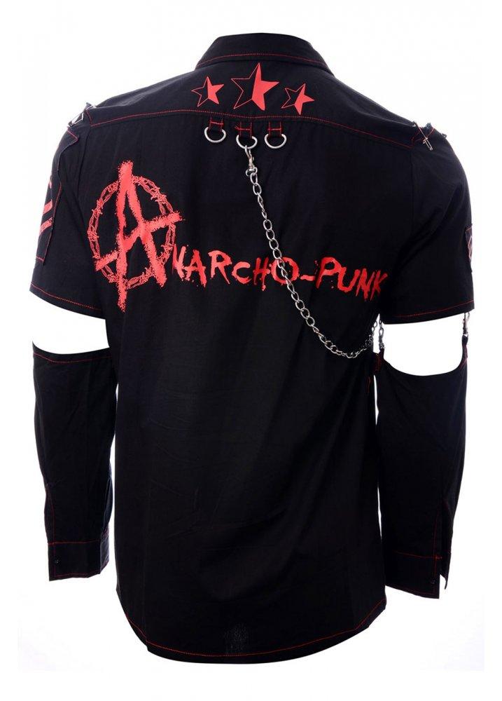 Dead Threads Anarcho Punk Shirt Attitude Clothing