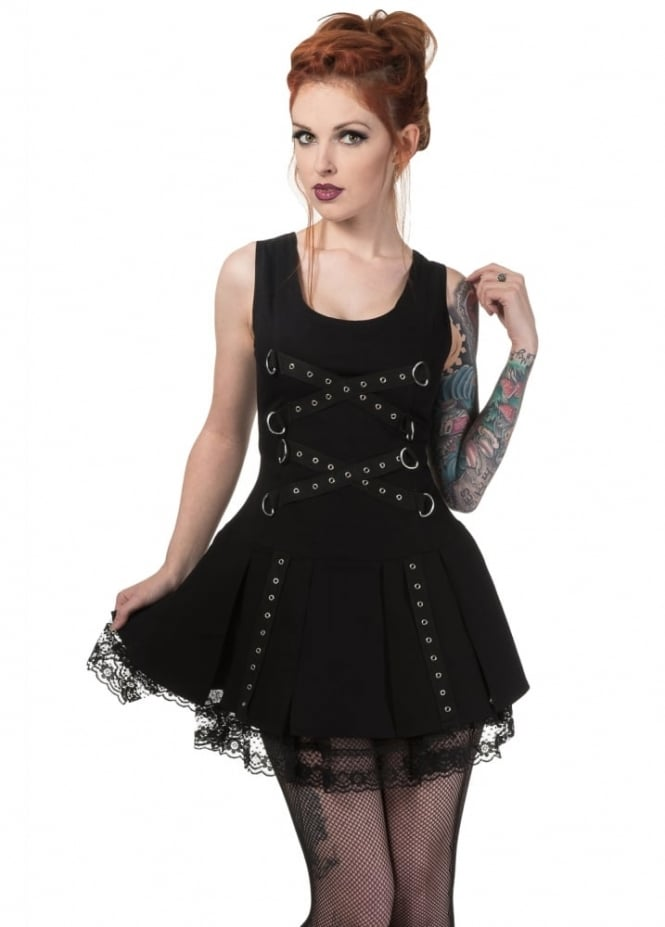 Dead Threads Chained Gladiator Dress