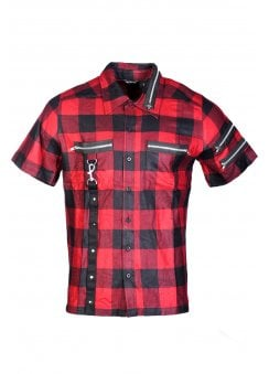 Distortion Checked Shirt