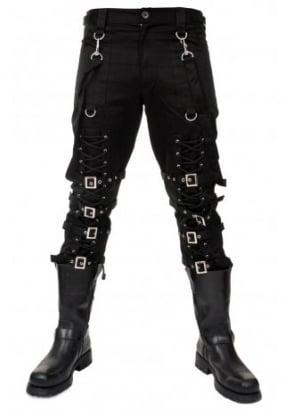 Lace-Up Bondage Pants