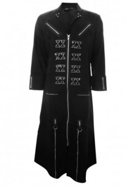 Safety Pin Duster Coat