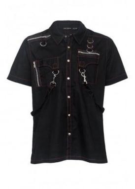 Stitched Strap Shirt