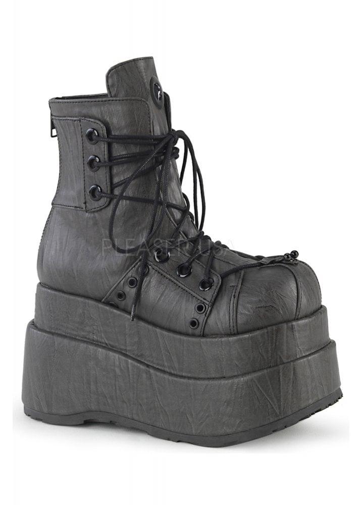 12dae9b206f Bear 120 Textured Platform Ankle Boot