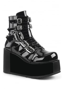 Concord 57 Gothic Patent Ankle Boot