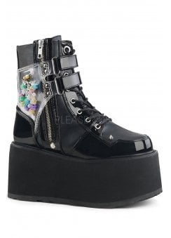 Damned 115 Platform Ankle Boot