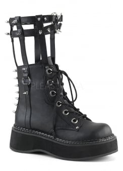 Emily 357 Gothic Harness Boot