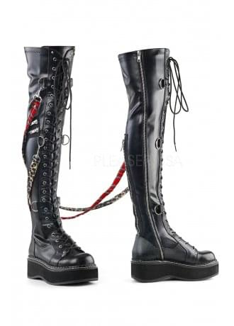 Demonia Emily 377 Over The Knee Boot