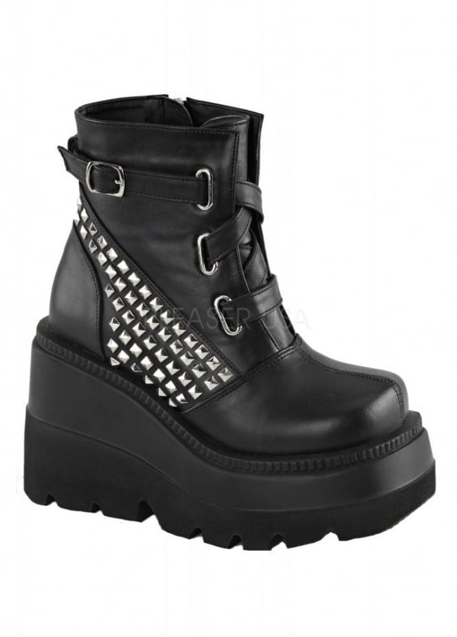 Demonia Shaker 50 Wedge Boot