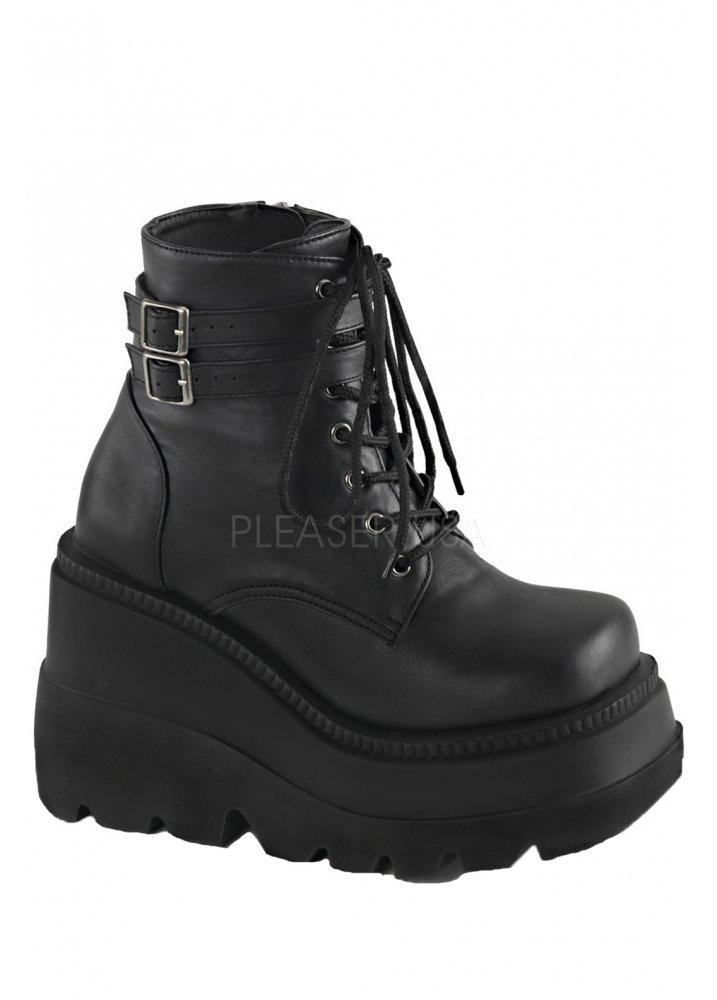 da4a718050fbd Demonia Shaker 52 Wedge Boot | Attitude Clothing