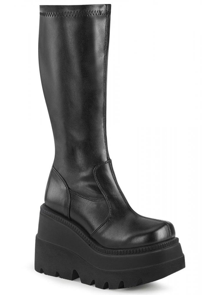 Demonia Shaker 65 Wedge Boot | Attitude