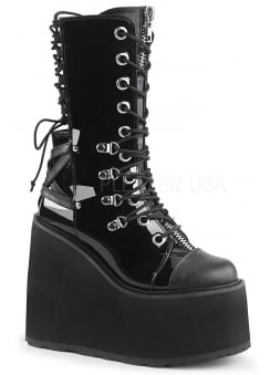 Swing 120 Gothic Lace Up Back Platform