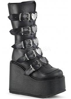 2c61d3da23f9 Swing 230 Black Heart Platform Boot
