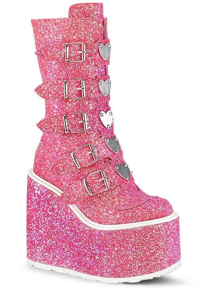sparkly platforms