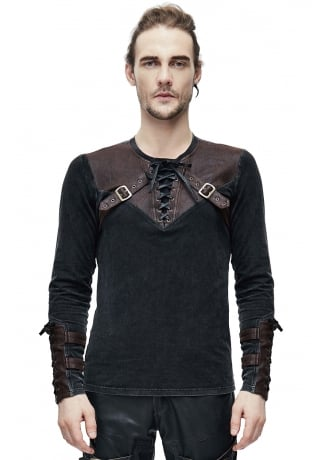 Devil Fashion Edison Long Sleeve Top