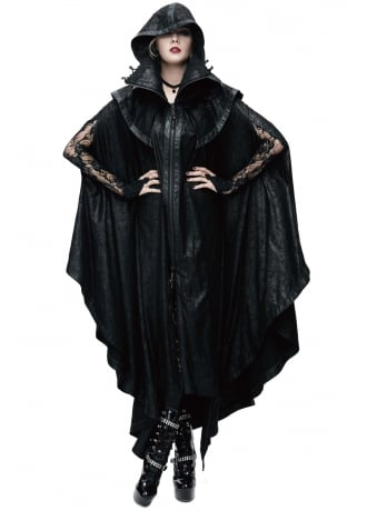 Devil Fashion Winter Is Coming Gothic Cape