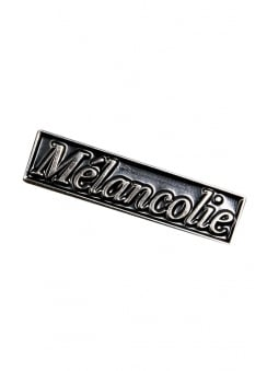Mélancolie Enamel Pin Badge