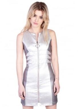 Silver Barbarella Dress