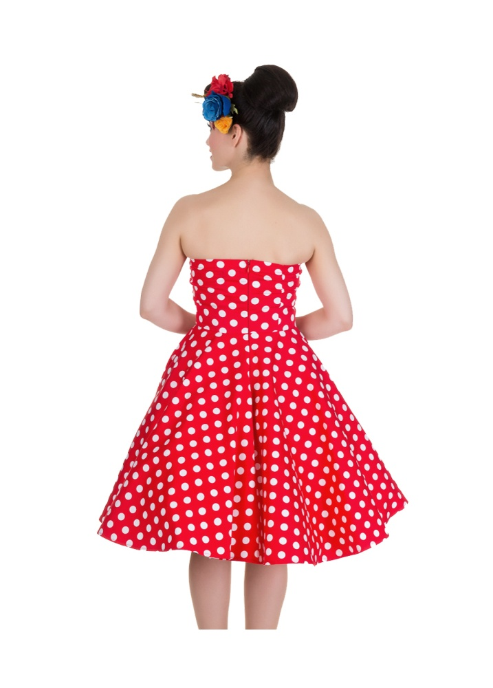 Dolly and Dotty Melissa Bandeau Retro Party Dress ...