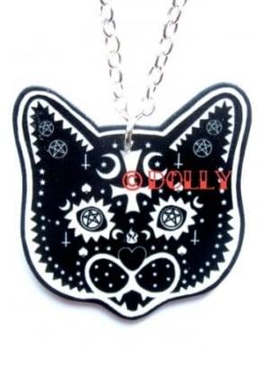 Occult Cat Necklace
