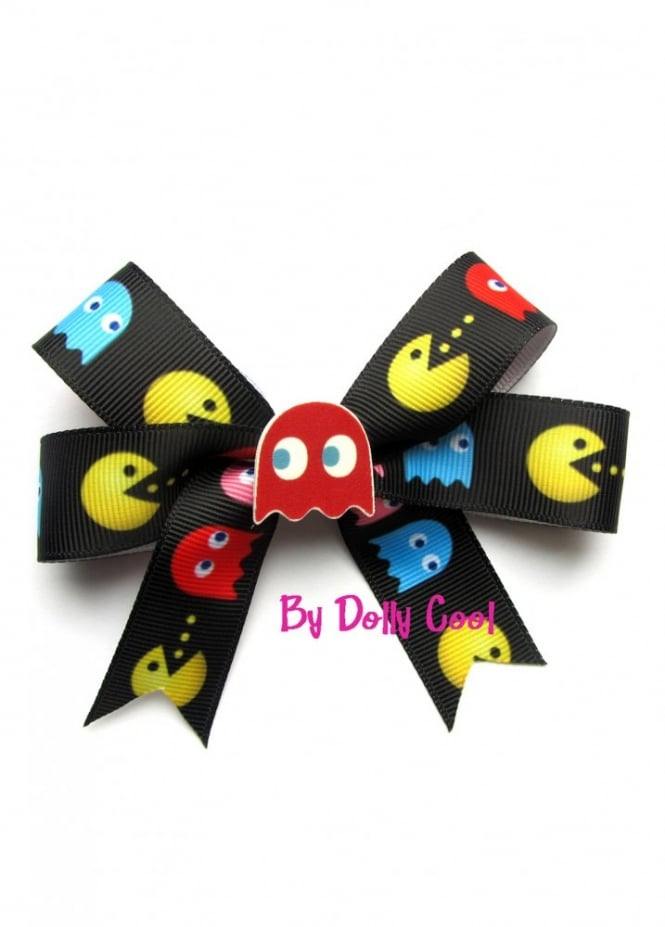 Dolly Cool Pac Man Bow