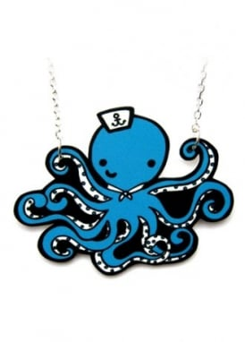 Sailor Octopus Necklace
