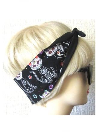 Dolly Cool Skelecat Hair Tie