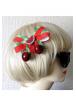 Dolly Cool Watermelon & Cherry Bow Hair Clip