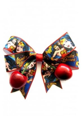 Wonder Woman Cherry Bow