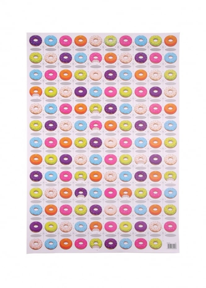 Donut Wrapping Paper & Tag