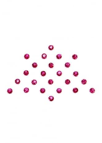Extreme Largeness 24 Pink Crystal Dot Bindis