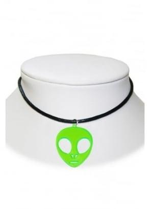 Alien Cord Necklace