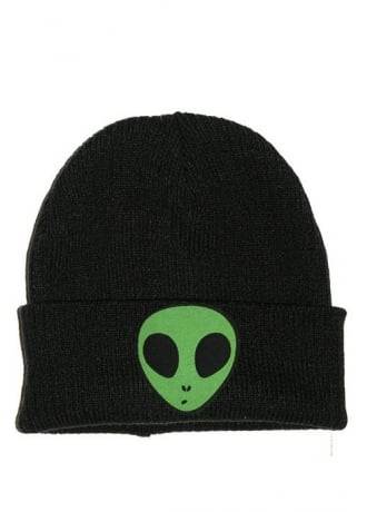 Extreme Largeness Alien Patch Beanie
