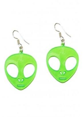 Alien UV Earrings