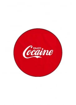 Coke Button Badge