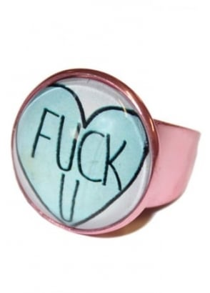 F**k You Heart Ring