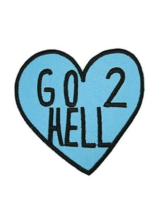 Extreme Largeness Go 2 Hell Heart Patch