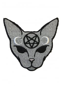 Goth Cat Patch