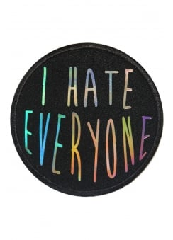 Holographic I Hate Everyone Patch