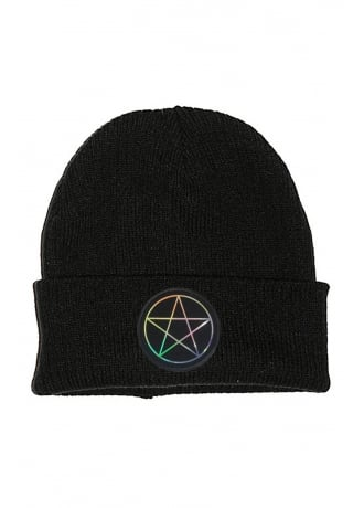 Extreme Largeness Holographic Pentagram Beanie