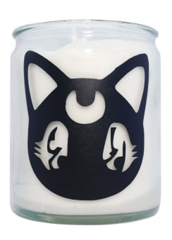 Moon Cat Candle